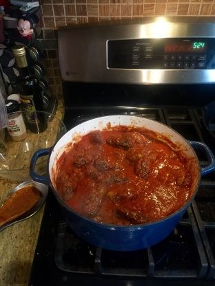 Lovely, delicately seasoned meatballs (Sousoukakia) in a tomato sauce done in the style of the Greeks from Smyrna. This is a warming, hearty dish, great year round, but especially in winter.