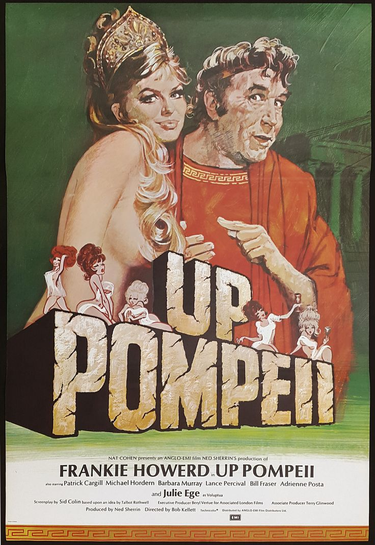 Frankie Howerd - Up Pompeii poster
