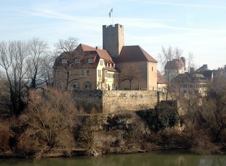 Grafenburg (Rathaus von Lauffen am Neckar, Landkreis Heilbronn)