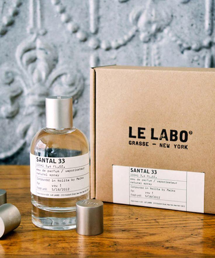 Le Labo Santal 33. Put on my radar by Allegra and Eleanor.
