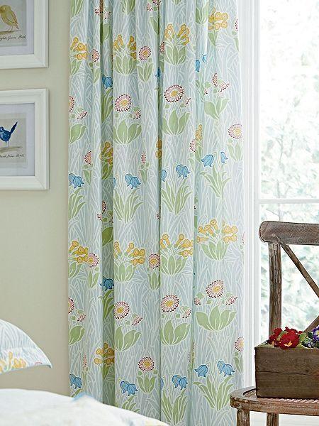 Cowslip curtains 66x72  duckegg