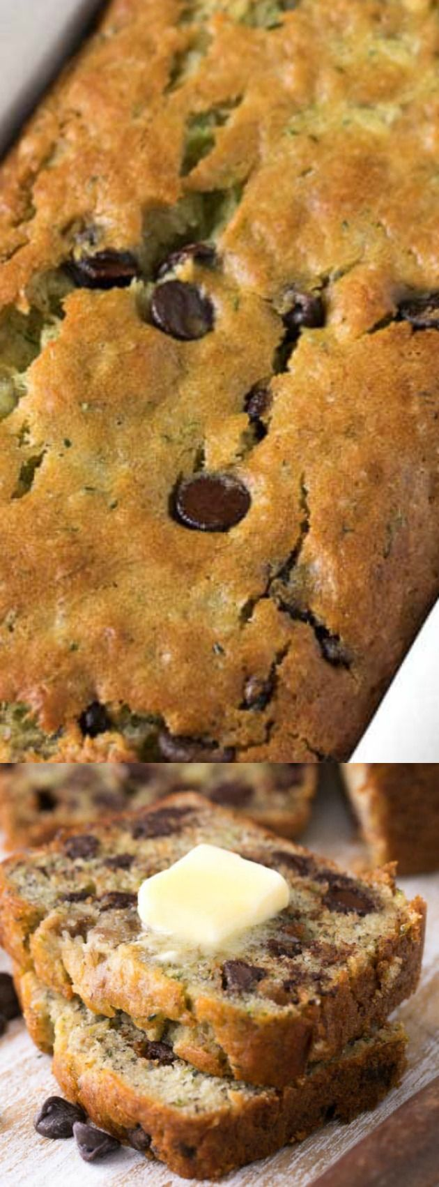 This Chocolate Chip Zucchini Banana Bread from Spend With Pennies is so tasty! Packed with fruit, veggies and luscious chocolate chips, this is one recipe you can feel good about making and sharing!