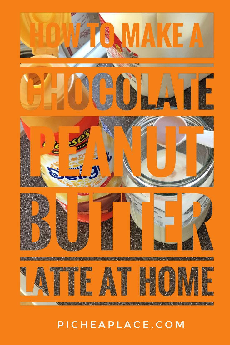 How to Make a Chocolate Peanut Butter Latte at Home #MeijerCoffeeCreamerBundle [ad] with @indelight