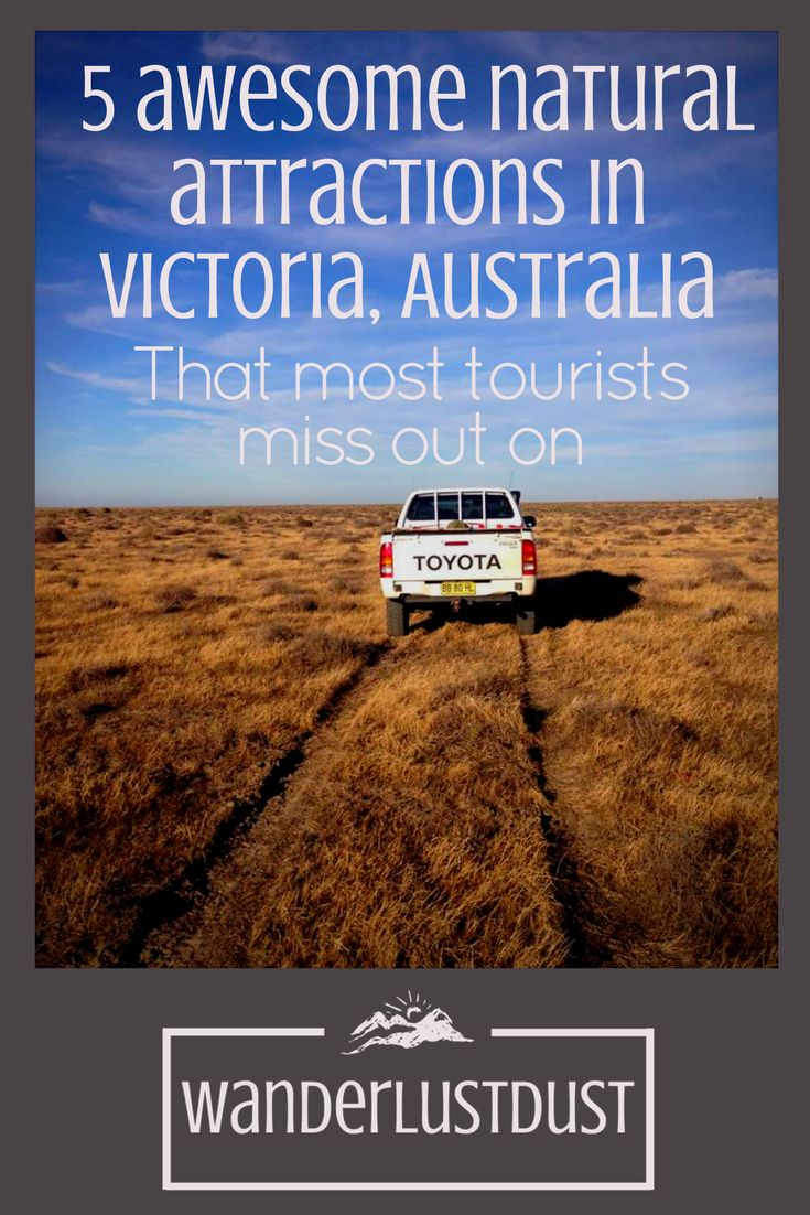 5 awesome natural attractions in Victoria, Australia that most tourists miss out on | Are you planning a trip to Australia?Be sure to make time for these 5 natural attractions which most tourists miss out on. This guide has loads of insider tips for the perfect Victorian adventure. Click through to read the whole article and sign up for our free guide! Dust X