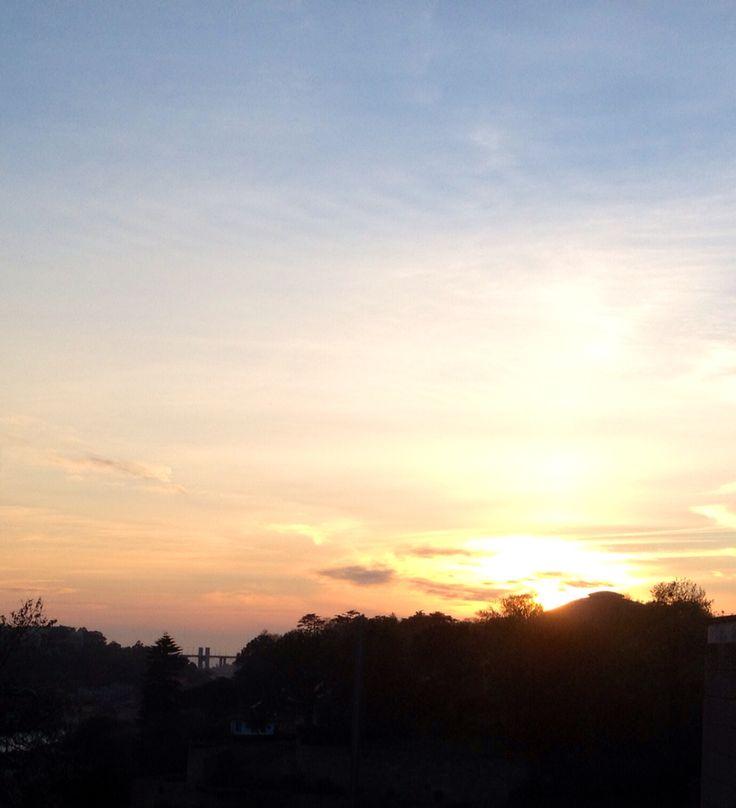 Sunset, 26-04-2016