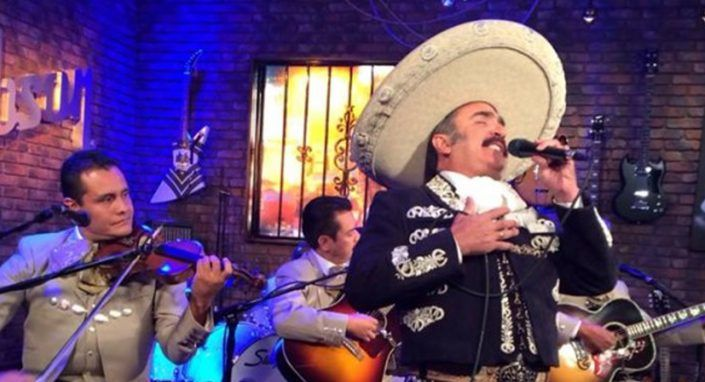 Vicente Fernandez Jr Appears on FOX TV