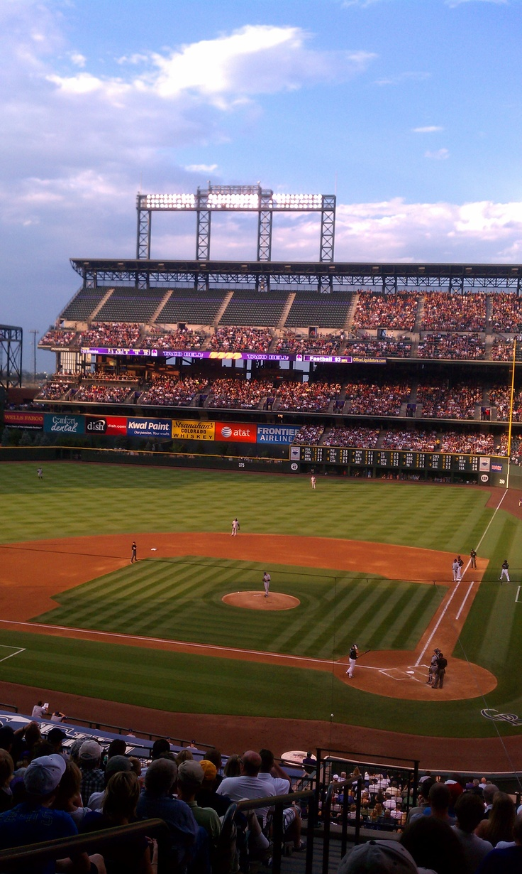 Rockies Stadium. Will definitely have to make it to a game. :)