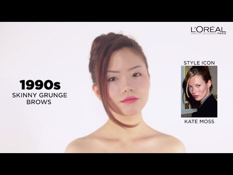 100 Years of Brow Looks | L'Oreal Makeup Designer Paris