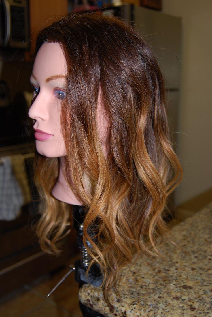 Best 25 hombre hair colors ideas on pinterest curly - Ombre hair technique ...