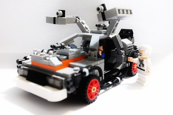 Lego Back to the Future DeLorean