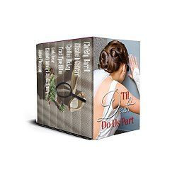 Amazon Bestselling and Award-Winning Authors  Drug smugglers, murderers, kidnappers, and crazy exes conspire to keep our brides and grooms from getting to the altar. But our intrepid sleuths are determined to get to the bottom of these happily-ever-after whodunnits, no matter what it costs!...