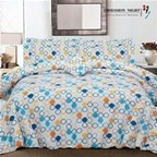 Bed Quilt Cover Set Queen Size Design: Janna Obsession Night