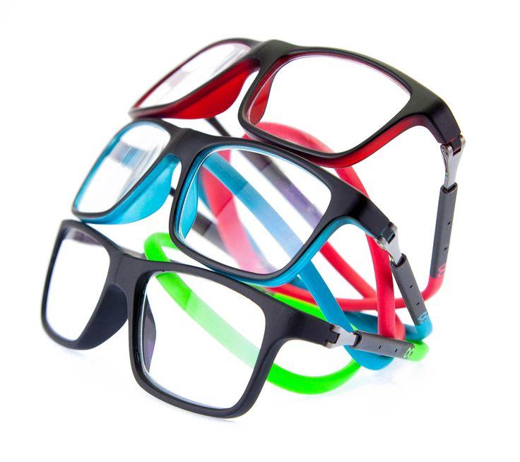 Óculos de grau com fechamento frontal magnético e haste flexível ajustável. It's Slastik… it's magnetik. #eyewear #slastik #Llevant