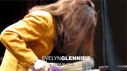 Evelyn Glennie: How to truly listen  In this soaring demonstration, deaf percussionist Evelyn Glennie illustrates how listening to music involves much more than simply letting sound waves hit your eardrums.
