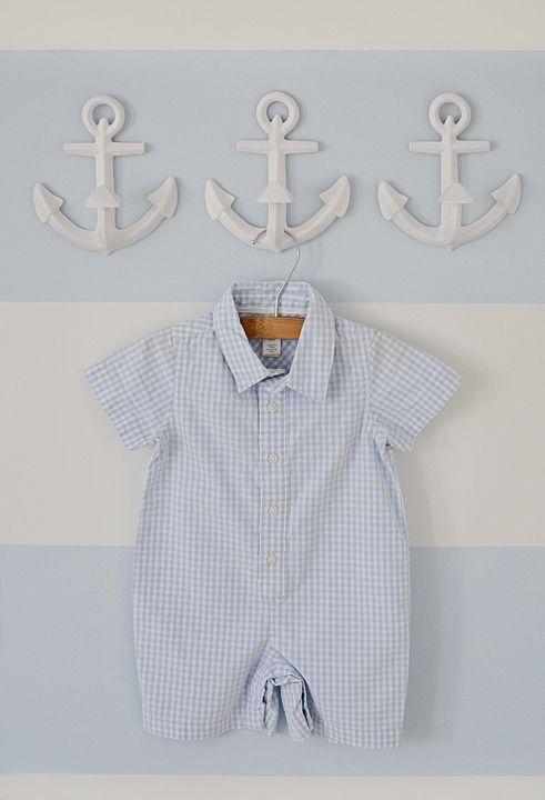 anchor wall hooks for nautical nursery