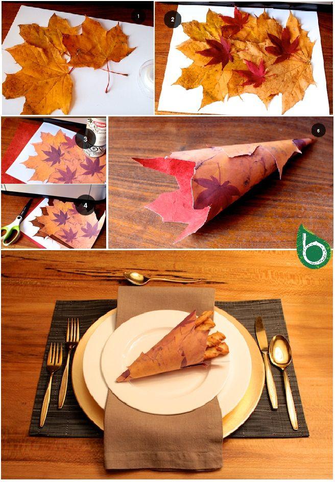 Autunno fai da te: idee per utilizzare foglie, rametti, ghiande e pigne - Bioradar Magazine