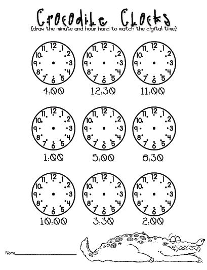 ABC and 123: What time is it Mr. Crocodile?