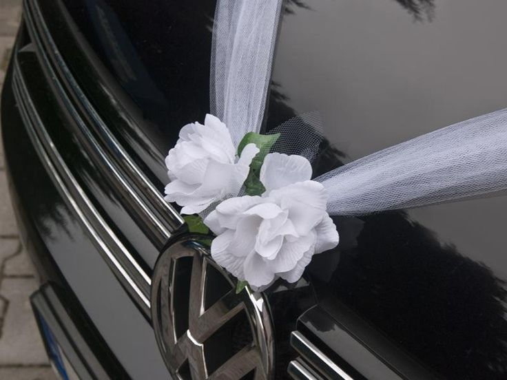 autó dekoráció 1x1,7 m – fehér tüll - dekoralomazeskuvom.hu