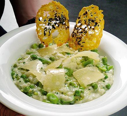 Risotto of spring vegetables - Gordon Ramsay with tips on how to prepare ahead and still get perfect risotto