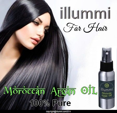 illummi Argan Oil for your hair.