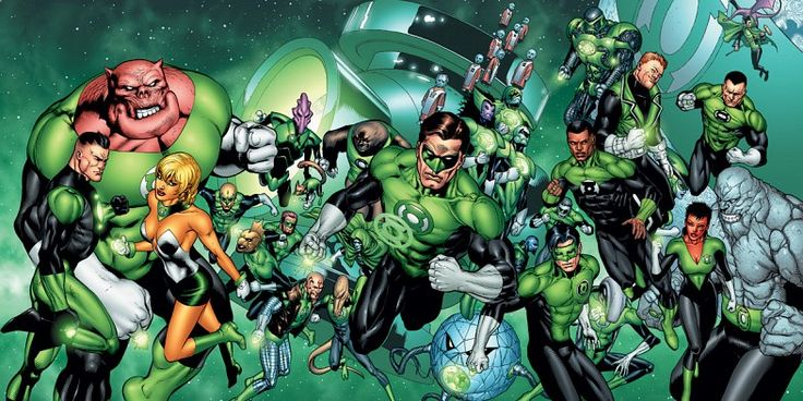 Green Lantern corp image Green Lantern Rumor: Reboot to Star Multiple Human Lanterns