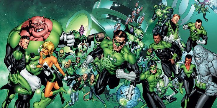 Green Lantern corp image Green Lantern Rumor: Reboot to Star Multiple Human Lanterns