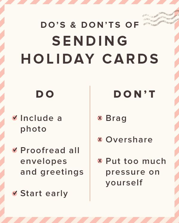 6 tips for sending holiday cards