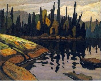 Shimmering Water - Lawren Harris