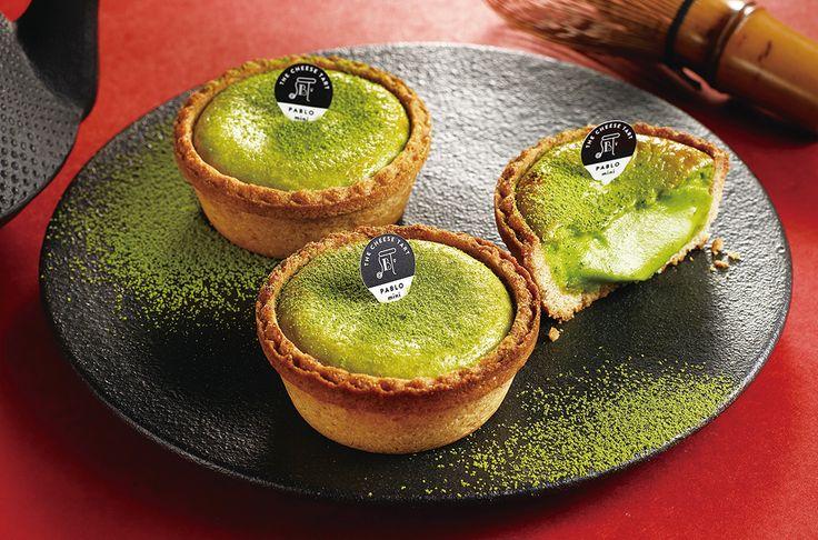 Matcha Green Tea Cheese Tart @ PABLO