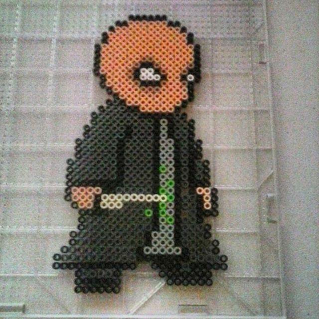 Voldemort  - Harry Potter perler beads by thebeardedperler