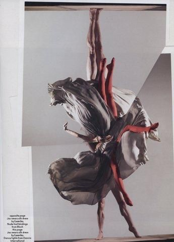 Alister Mackie and photography by Nick Knight: Jac Jagaciak and benjamin Warbis dancing! how could it be better