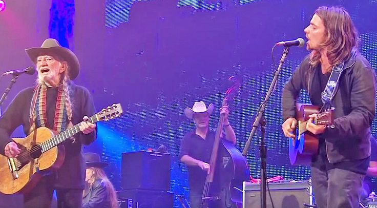 Country Music Lyrics - Quotes - Songs Willie nelson - Willie WILLIE NELSON & HIS SON LUKAS SOUND IDENTICAL IN UNREAL DUET OF 'JUST BREATHE' Nelson