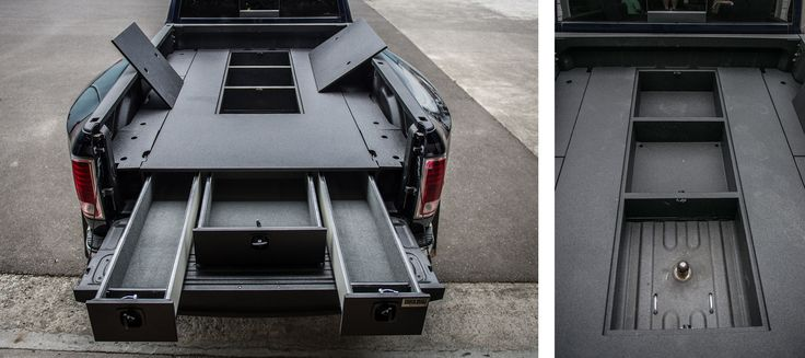 Toyota Tacoma Tool Box >> A great storage solution from TruckVault for 5th wheel ...