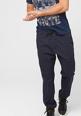 Twill tracksuit bottoms in the s.Oliver Online Shop