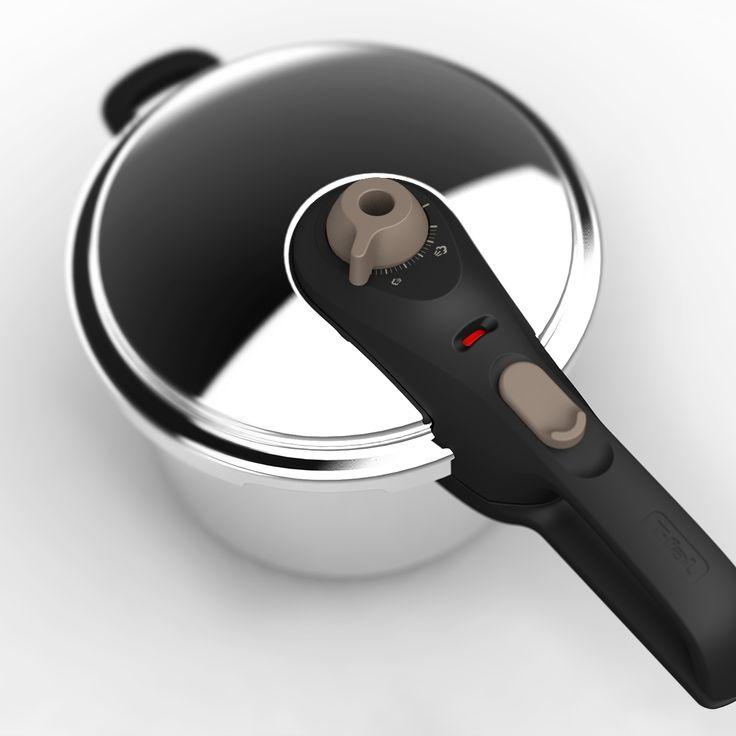 Tefal/T-Fal - Pressure cooker - rendered in KeyShot & 3D modelled by Eric Altorf