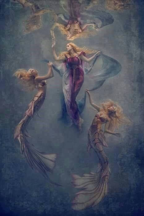 картинки ангел и феи русалки самом деле, тех