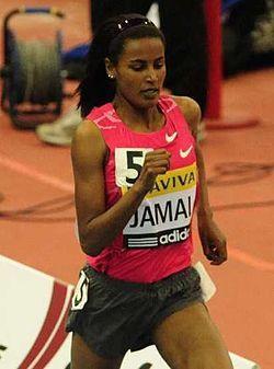Maryam Yusuf Jamal (Zenebech Tola), Middle distance athlete, Olympic and world medalist. http://en.wikipedia.org/wiki/Maryam_Yusuf_Jamal