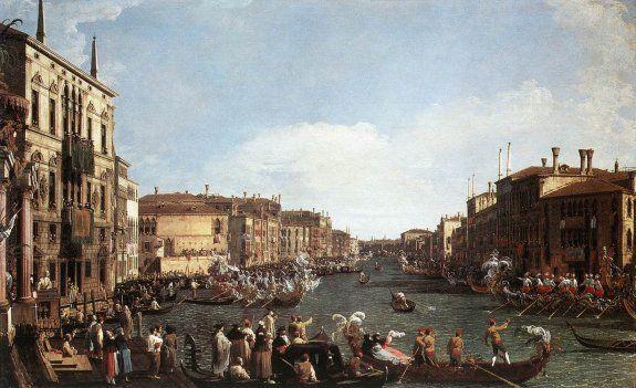 Canaletto - Regata al Gran Canal