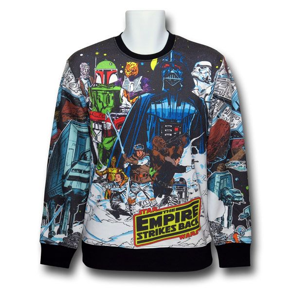 star wars sweatshirt red