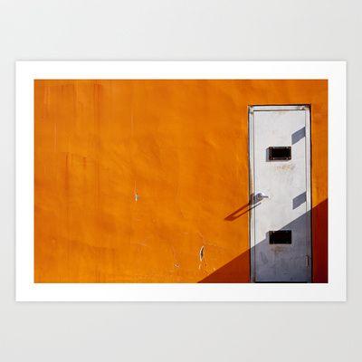 Orange Wall Art Print by Shy Photog - $19.00