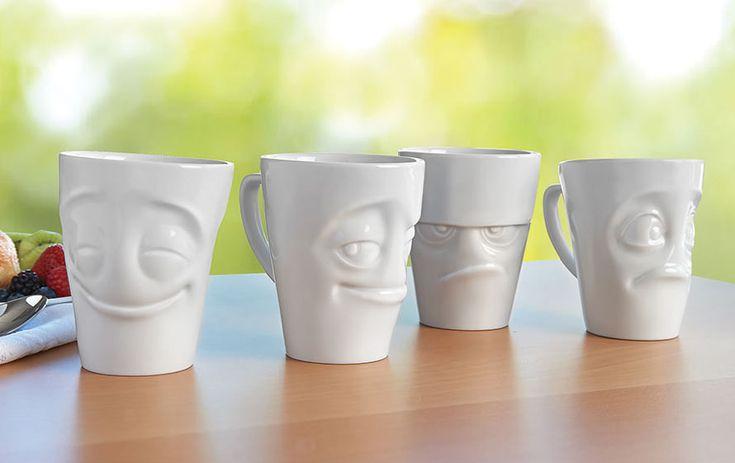 Anthropomorphic mug mugs