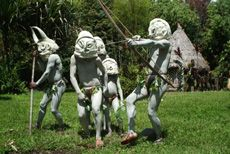 Attended a sing sing in Madang and saw the mudmen proform omg awesomeness - Mudmen.jpg