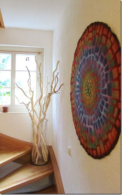 Mosaik im Treppenhaus