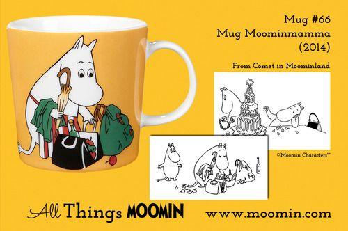 Moomin.com - Moomin mug Moominmamma / mummimamma