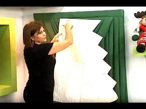 Como hacer un Drapeado para cortinero de tubo. 2/5 - YouTube