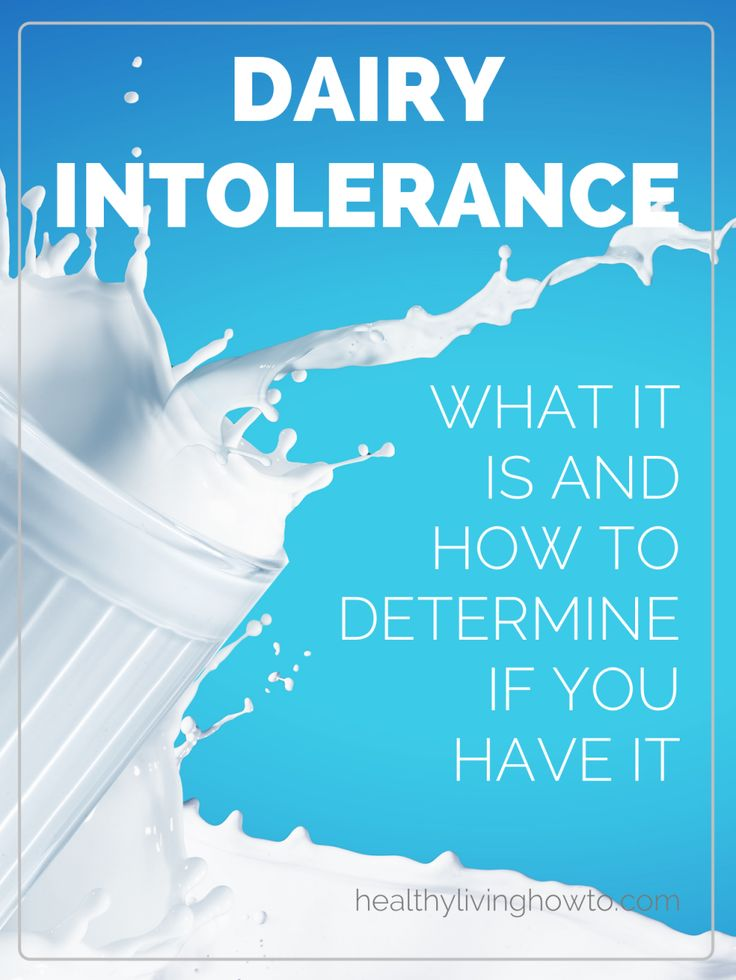 Dairy Intolerance: What It Is And How To Determine If You Have It | healthylivinghowto.com