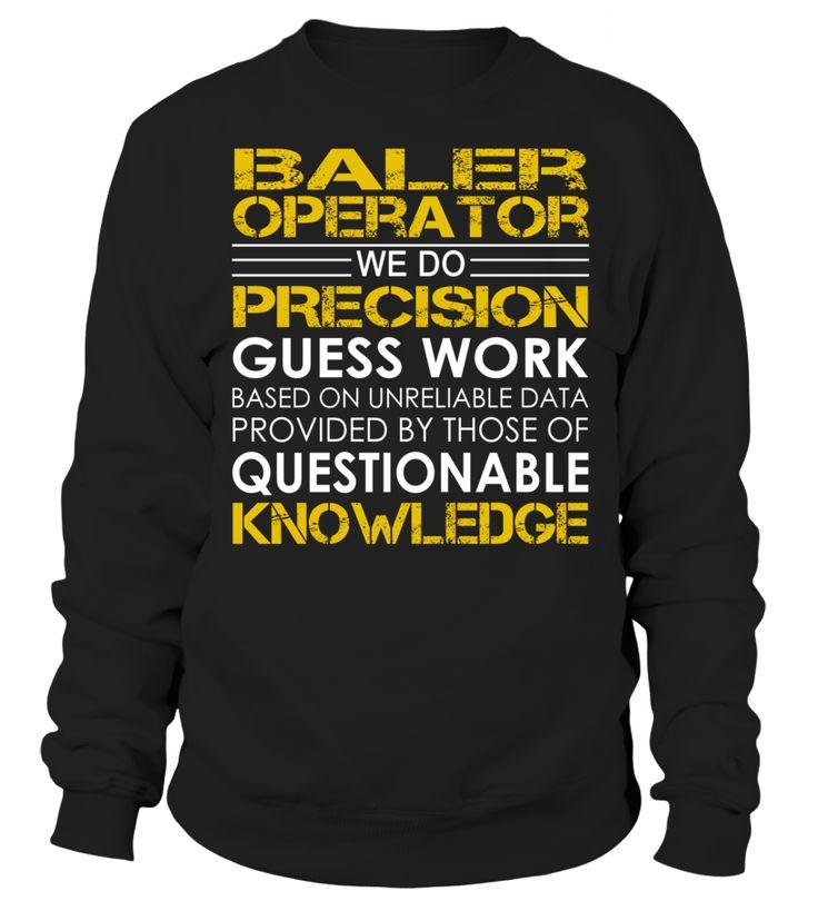 Baler Operator - We Do Precision Guess Work