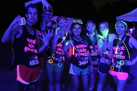 The Glow Run 5K @ Remington Park - http://www.oklahomascasinos.com/events/the-glow-run-5k-remington-park/