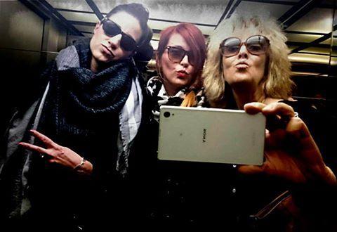 "Irene Lajtonyi Stoev March 6  ·    #zenitbudapest #challenge ""Charlie's Angels"" — with Mareike and Canella Bini at Zenit Budapest."
