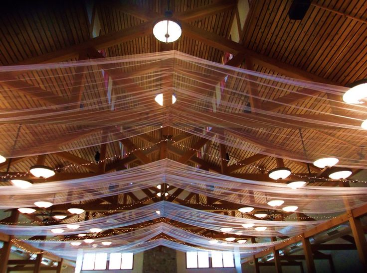 tulle wedding decorations ceiling - Tulum.smsender.co